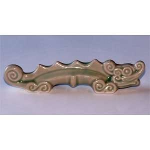 Ceramic Dragon Brush Rest