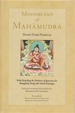 Moonbeams of Mahamudra by Dakpo Tashi Namgyal, with Dispelling the Darkness of Ignorance by Wangchuk Dorje, translated by Elizabeth M. Callahan