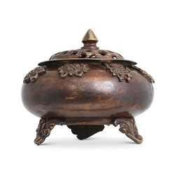Auspicious Symbol Incense Burner