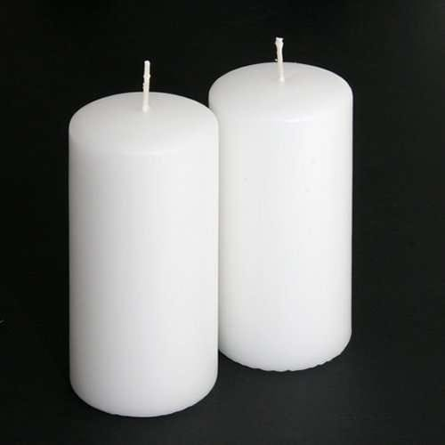 Unscented Pillar Candle, 5 inches