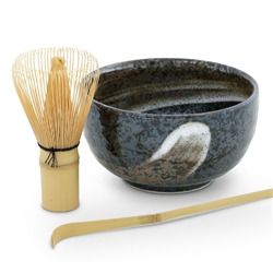 Matcha Tea Bowl, Whisk, and Spoon Set