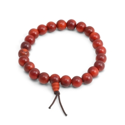 Dragon Blood Wood Wrist Mala