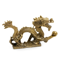 "Brass Dragon  4"" Long"