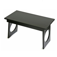 Pooja Table with Zen Black Finish