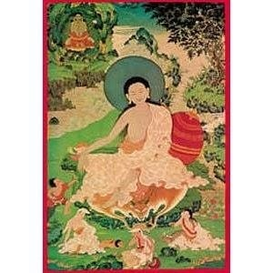 Milarepa Laminated Card