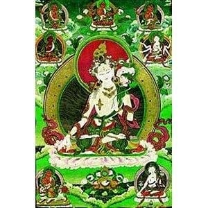 White Tara Laminated Card