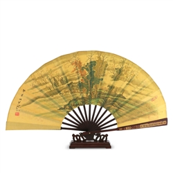 Decorative Fan with Landscape