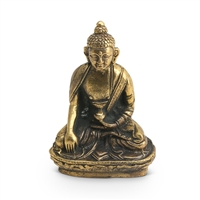 Small Brass Buddha Statue, 2 inches high