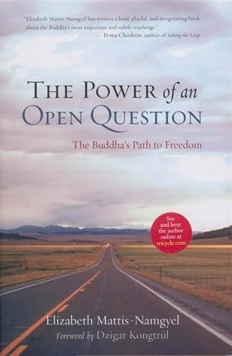 The Power of an Open Question <br>The Buddha's Path to Freedom <br>by Elizabeth Mattis-Namgyel