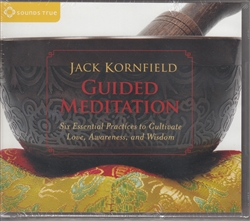 Guided Meditation by Jack Kornfield on 2 audio cds