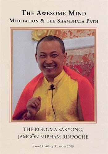 The Awesome Mind <br>Meditation & the Shambhala Path DVD <br>by Sakyong Mipham Rinpoche
