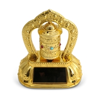 Solar Powered Prayer Wheel
