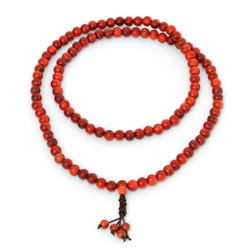 Dragon Blood Wood Mala 8mm Beads