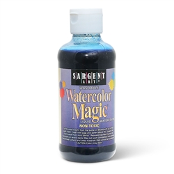 Sargent Art Watercolor Magic Blue 8 oz bottle