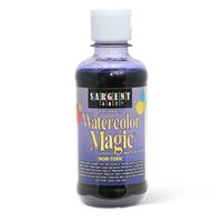 Sargent Art Watercolor Magic Blue-Violet 8 oz bottle