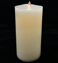 Matchless Pillar Candle 6 inches tall x 3 inches wide