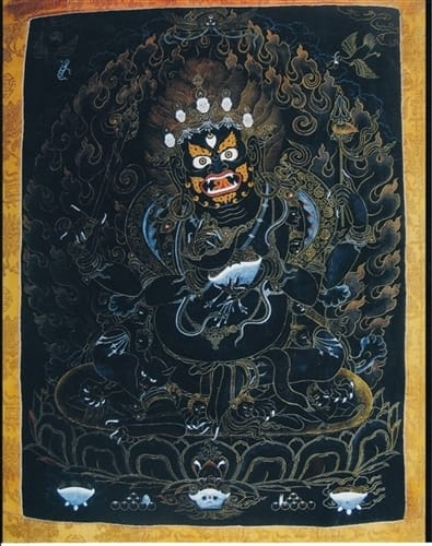 Four-Armed Mahakala Photo Print 8x10