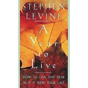 A Year to Live: How to Live This Year As If it Were Your Last -- by Stephen Levine