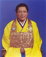 Shrine photo of Chögyam Trungpa Rinpoche 5X7