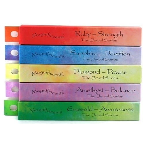 Shoyeido Magnifiscents Japanese Incense 5-Box Sampler