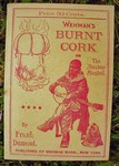 Burnt Cork Or The Amateur Minstrel