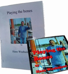 Hans Weehuizen Playing the Bones CD and Guidebook