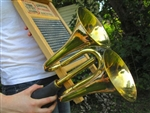 Double Bell Horn for musical washboards, vintage cars, clowns & entertainers