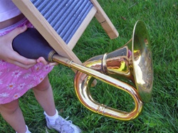 Large Bulb Horn for Musical Washboard