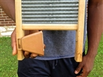 "Long Distance Cowbell (3-1/2"" w/loop) for Musical Washboard"