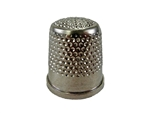 Rhythm Patch Nickel Plated Brass Thimble, Dome Top, Flat Collar, 18 mm
