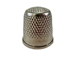 Rhythm Patch Nickel Plated Brass Thimble, Dome Top, Flat Collar, 20 mm