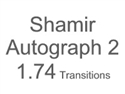 Shamir Autograph 2 High Index 1.74 Transitions