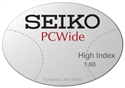 Seiko PCWide High Index 1.60
