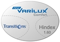 Varilux Comfort High Index 1.60 Transitions