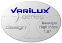Varilux S Design High Index 1.67 Transitions