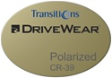 Single Vision DriveWear Plastic CR-39 Transitions Polarized