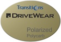 Single Vision Polycarbonate DriveWear Transitions Polarized