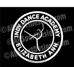 Indy Dance Academy Car Decals