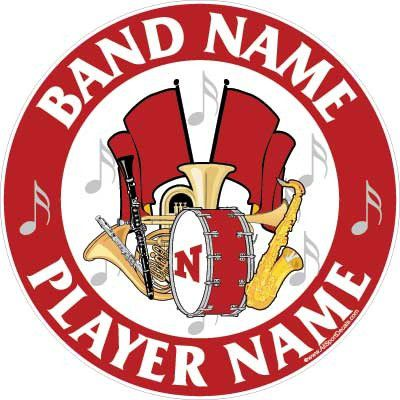 Marching Band Instrument Stickers
