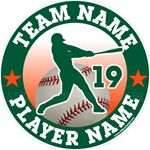 baseball car stickers decals magnets