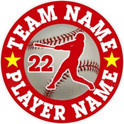 baseball car stickers clings decals & magnets