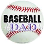 Baseball Mom window sticker decal clings & magnets