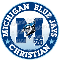 Bluejay stickers clings decals magnets yard signs
