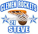 basketball stickers clings decals & magnets
