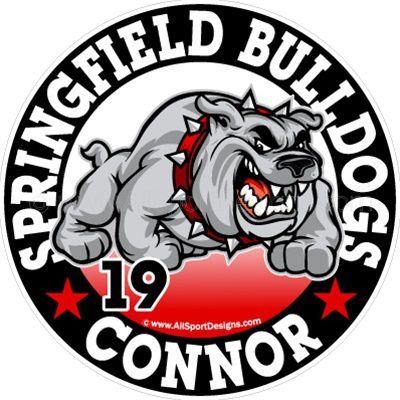 Car Decals Magnet Wall Decals For Bulldog And Fundraising - Car magnets for sport fundraiser