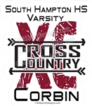 Cross Country sticker decals clings & magnets