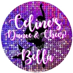DANCE134 Dance134 Car Window Decals Stickers Clings or Magnets. Choose below.