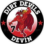 Devil stickers decals cllings & magnets