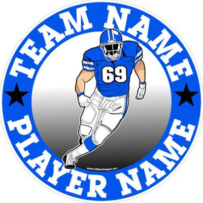 Car Decals Magnets Wall Decals And Fundraising For Football - Custom car magnets and stickerscar decals magnets wall decals and fundraising for softball