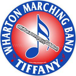 flute car window sticker decals